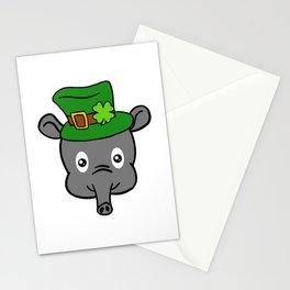 Leprechaun Tapir- St. Patricks Day Stationery Cards