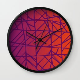 CROSSOVER Wall Clock