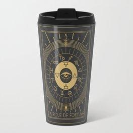 La Roue de Fortune or Wheel of Fortune Travel Mug