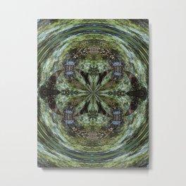Reflection In A Creek # 2 Metal Print