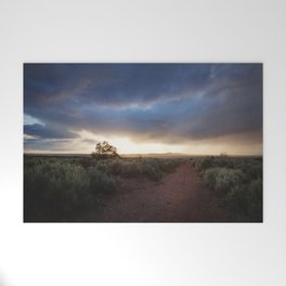 New Mexico Sunset Welcome Mat