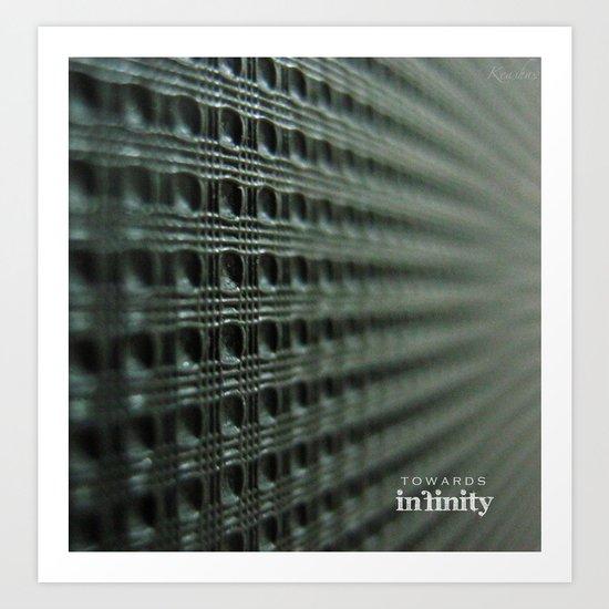 Towards Infinity Art Print