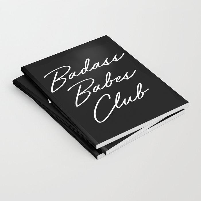 Badass Babes Club 1 Notebook