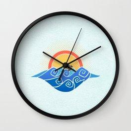 Sailing in a Dragon Boat - Wind Waker Wall Clock