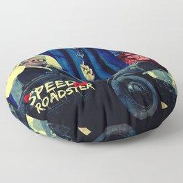 Speed Roadster Floor Pillow