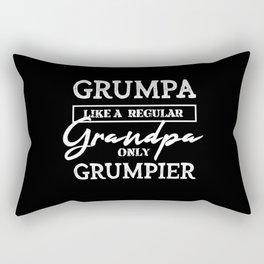 Grumpy Grandpa Rectangular Pillow