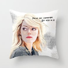 You're Not Important. Throw Pillow