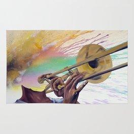 Trombonist Rug