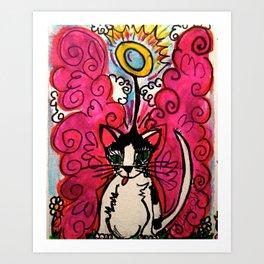 Queenie, The Angel of Beauty Art Print