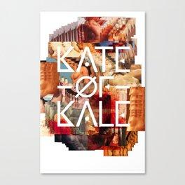 Kate of Kale's Slut Avenue Canvas Print