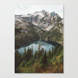 Alpine View in the North Cascades Canvas Print