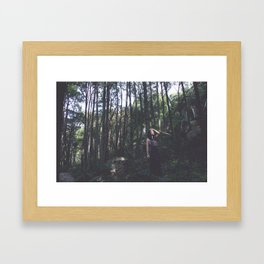Rising Den Framed Art Print