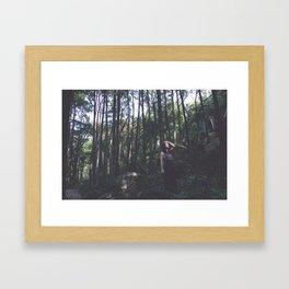 Rising Den Framed Art Print