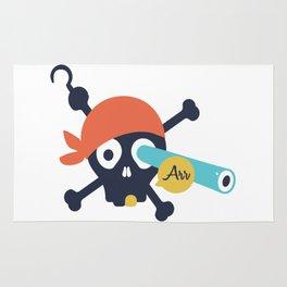 Arr Dead Pirate Rug