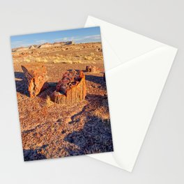 View from the Long Logs Trail in Petrified Forest National Park Stationery Cards