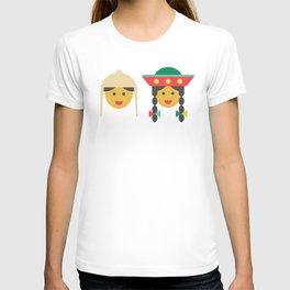 a quechua boy and girl T-shirt