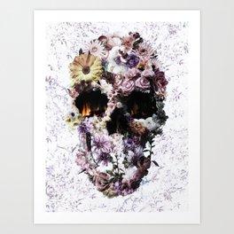 Upland Skull Art Print