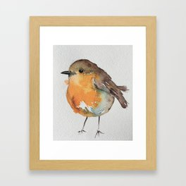 Robin Bobin Along Framed Art Print