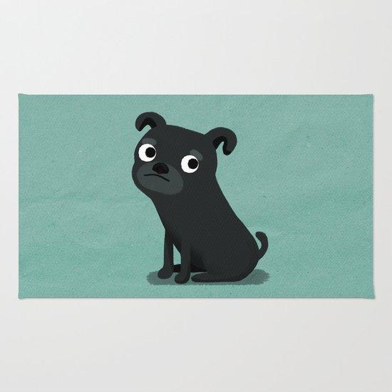 Pug - Cute Dog Series Rug