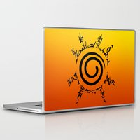 naruto Laptop & iPad Skins featuring NARUTO SEAL by Smart Friend
