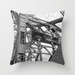 City Bound Throw Pillow