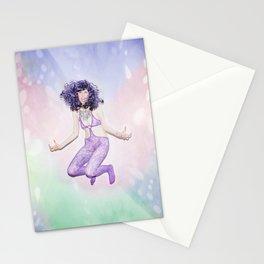 heure de couleur - pourpre Stationery Cards