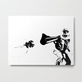 Thought Police Metal Print