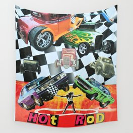 Hot Rod 2 Wall Tapestry
