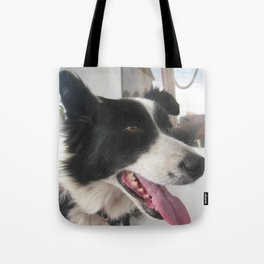 boating dog Tote Bag
