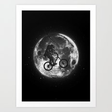 E.T.B. (monochrome series) Art Print