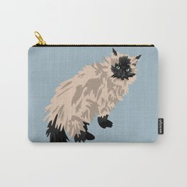 Gabe the cat Carry-All Pouch