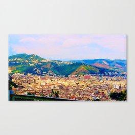 Italian Cityscape Canvas Print