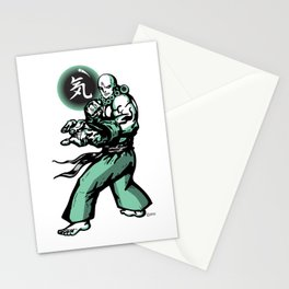 The Monk and The Orb Stationery Cards