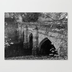 Eltham Palace Bridge Canvas Print