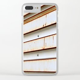 Aluminum Siding Clear iPhone Case