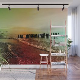 Colorful baltic sea Wall Mural