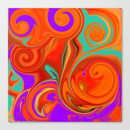 vortices in color Canvas Print