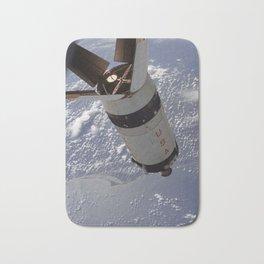 Apollo 7 - Saturn V over Cape Canaveral Bath Mat