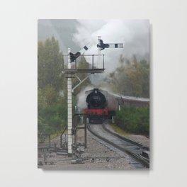 Strathspey Railway Metal Print