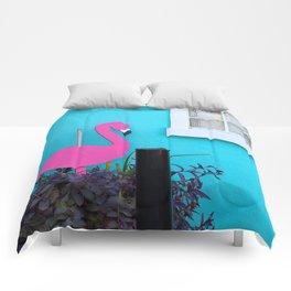 Folly Flamingo Comforters