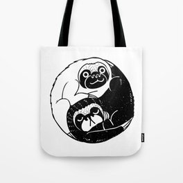 The Tao of Sloths Tote Bag