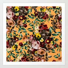 floral ambiance Art Print