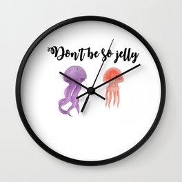 Don't be so jelly Wall Clock