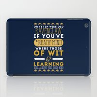 ravenclaw iPad Cases featuring Ravenclaw by Dorothy Leigh