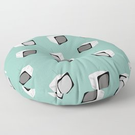 MINT Retro Tv Floor Pillow