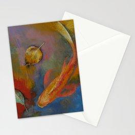 Gold Leaf Stationery Cards