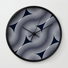 Grid Studies Arc #18_126 Wall Clock