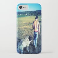 indiana iPhone & iPod Cases featuring Indiana by Peacockbutterfly  Art