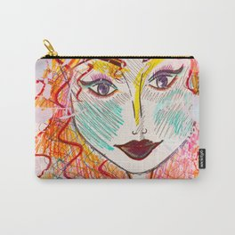 I Will Think of A Mermaid Lagoon, Underneath Magic Moon ~Wendy Carry-All Pouch