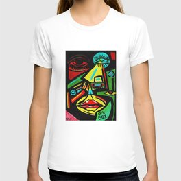 """""""Rosy Cheeks"""" Abstract Portrait Painting T-shirt"""